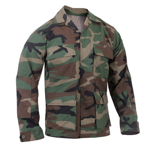 BDU Shirt- Woodland Camouflage from Hessen Tactical