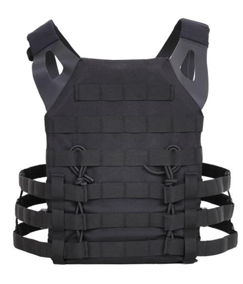 Lightweight Plate Carrier Vest - Black