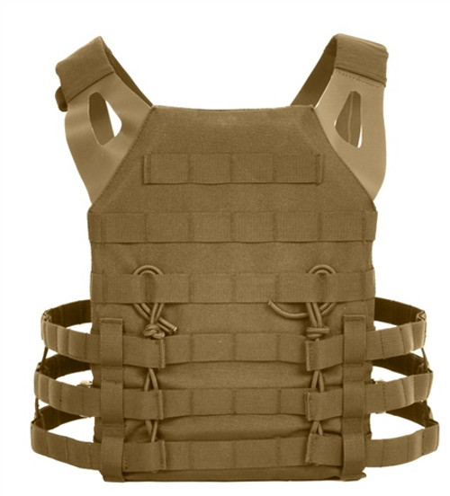Lightweight Plate Carrier Vest - Coyote