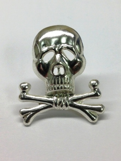 Brunswick Skull Badge for visor cap from Hessen Antique