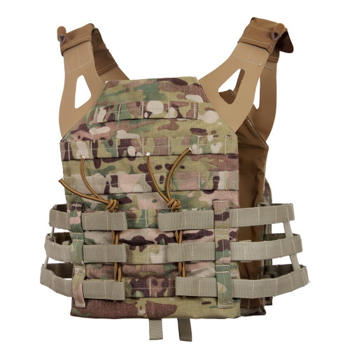 Lightweight Plate Carrier Vest - Multicam