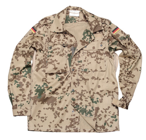 Bundeswehr Tropical Flecktarn Field Shirt from Hessen Antique
