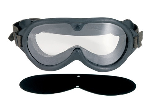 G.I. Type, Sun, Wind, & Dust Goggles from Hessen Antique