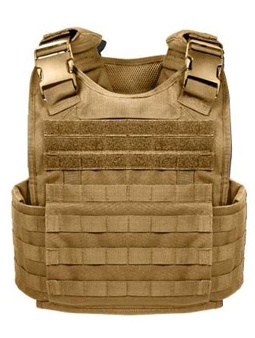 M.O.L.L.E. Plate Carrier Vest - Coyote
