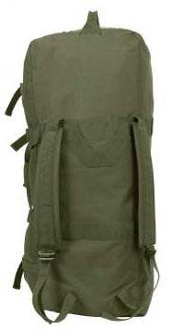 GI Type O.D. Enhanced Zipper Duffle Bag from Hessen Tactical