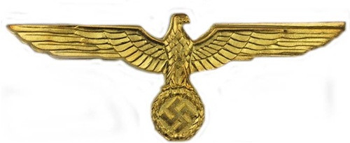 KM Officer Breast Eagle - Metal