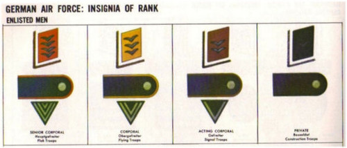 LW Panzer Enlisted Shoulder Boards on Black wool