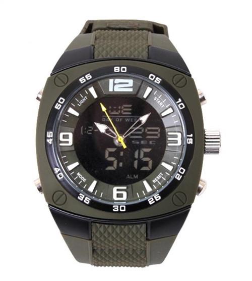 XLarge Military Style Analog & Digital Display Watch from Hessen Militaria