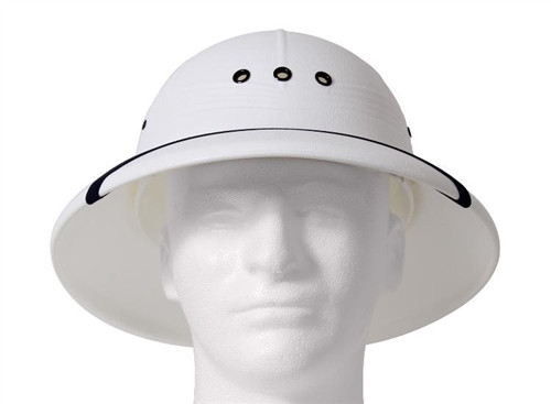White Pith Helmet from Hessen Antique