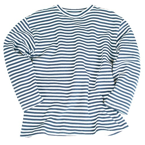 Russian Striped Summer Sweater from Hessen Antique