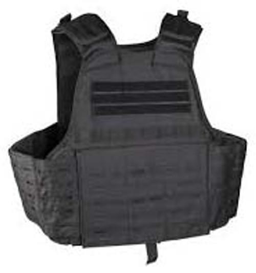 Black Laser Cut Plate Carrier Vest from Hessen Antique