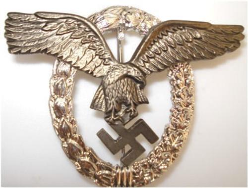 The Pilot's Badge (Flugzeugfuehrerabzeichen) from Hessen Antique