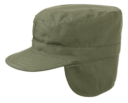 OD Patrol Cap w/Ear Flaps from Hessen Tactical