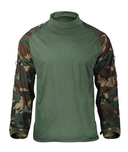 ACU Digital Camouflage Combat Shirt from Hessen Tactical