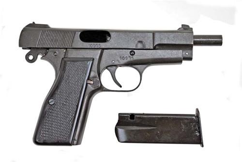German Browning High Power Pistol Holster from Hessen Antique