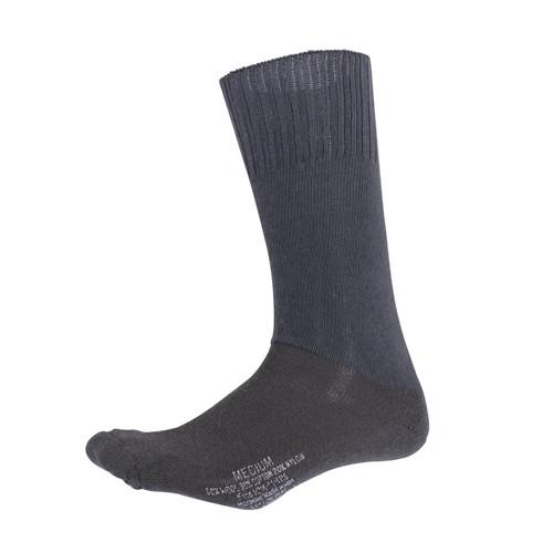 G.I. Type Cushion Sole Socks - Black from Hessen Antique