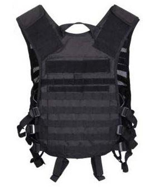 Black Lightweight M.O.L.L.E. Utility Vest from Hessen Antique