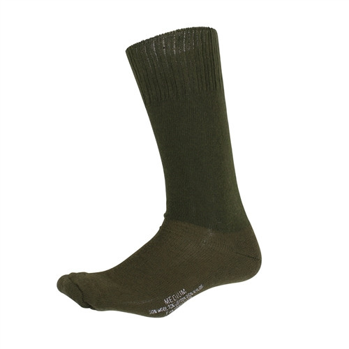G.I. Type Cushion Sole Socks - OD from Hessen Antique