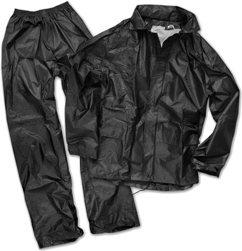 MIL-TEC Lightweight 2 Piece Rain Suit from Hessen Antique