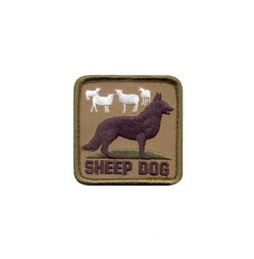Sheep Dog Patch from Hessen Antique