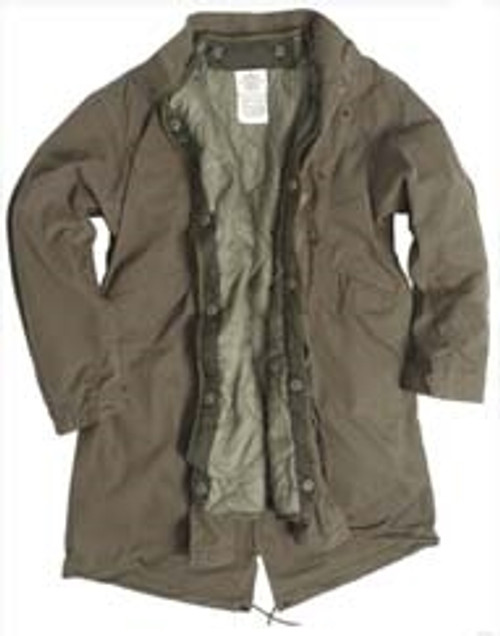 """US Style OD M65 """"Fishtail"""" Parka With Liner  from Hessen Antique"""