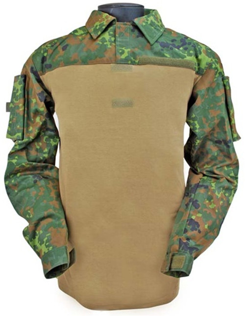 Flecktarn Bw Combat Shirt from Hessen Antique