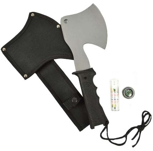 MIL-TEC Hatchet With Survival Kit And Carrier from Hessen Antique