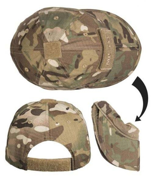 MIL-Tec Fold-able Operator's Baseball Cap From Hessen Antique