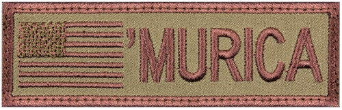 """""""Murica"""" Flag Patch from Hessen Antique"""