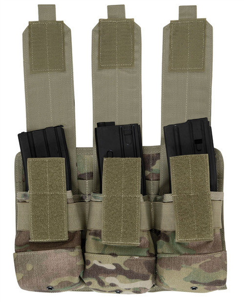 M.O.L.L.E. Universal Triple Magazine Rifle Pouch from Hessen Tactical.