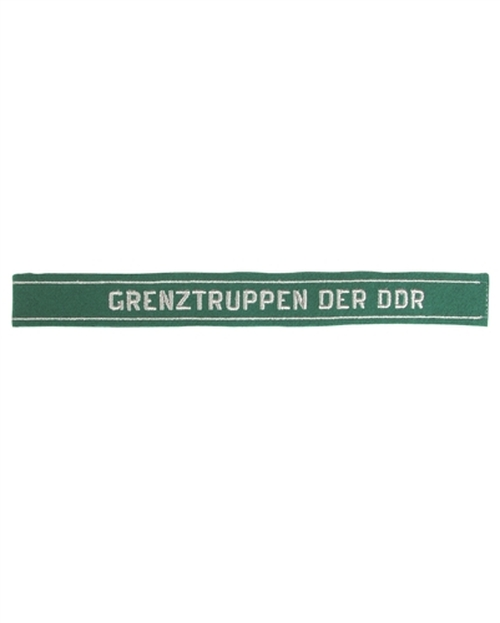 "East German ""Grenztruppen"" Cuff Title Hessen Surplus"