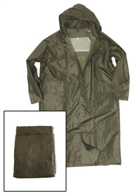 MIL-TEC Lightweight Rain Coat - New from Hessen Antique