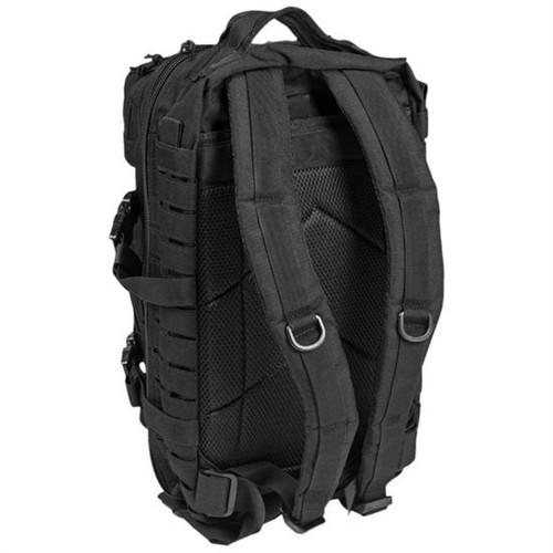 US Style Black Laser Cut Assualt Pack - Large Hessen Antique Militaria