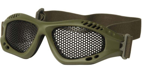 MIL-TEC Tactical Airsoft Goggles Anti-Fog Metal Grid Lens from Hessen Antique