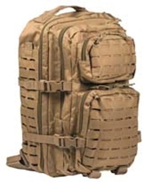 US Style Coyote Laser Cut Assualt Pack - Large Hessen Antique Militaria