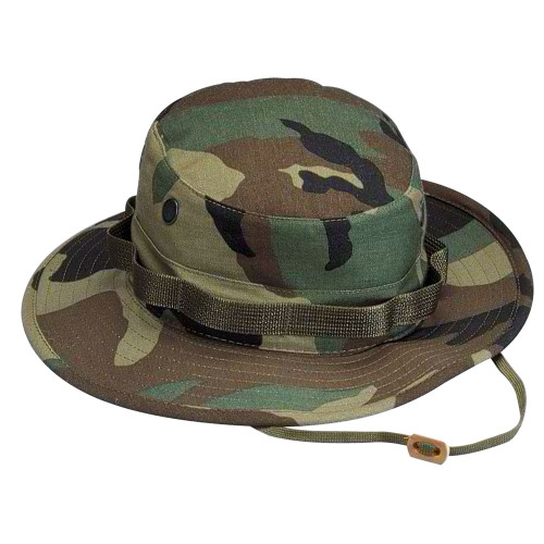 Boonie Hat - Woodland Camofrom Hessen Tactical.