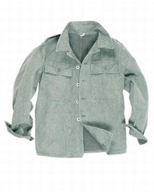 Swiss Grey Work Jacket from Hessen Surplus
