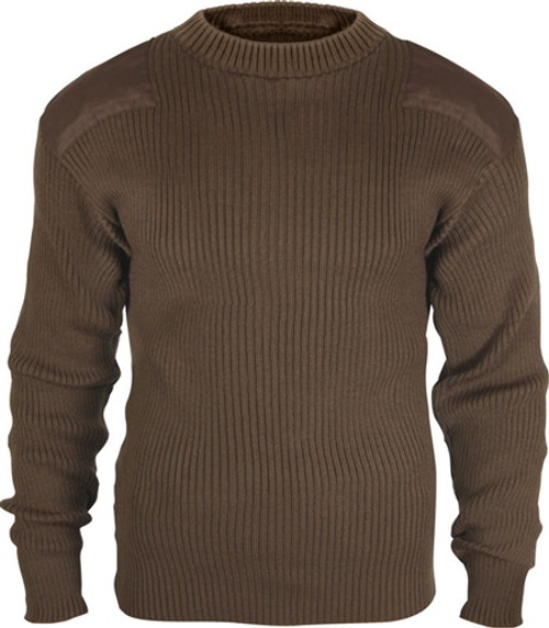 Acrylic Commando Sweater - Brown from Hessen Tactical