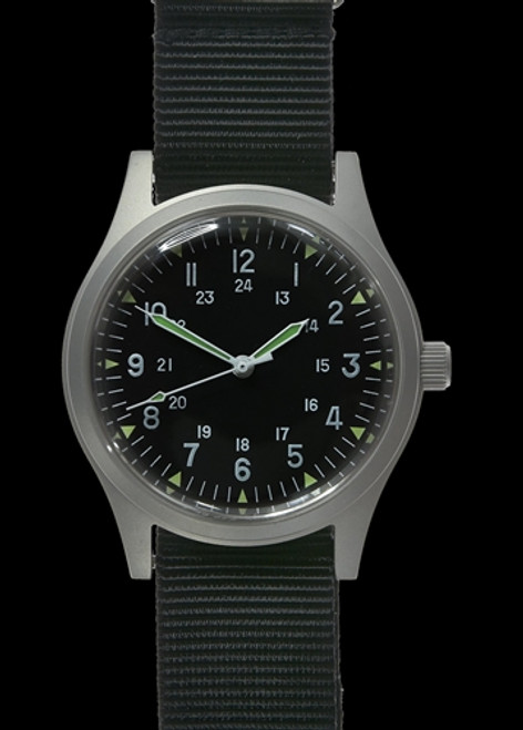 MWC GG-W-113 US 1960s Pattern Military Watch (automatic) from Hessen Militaria