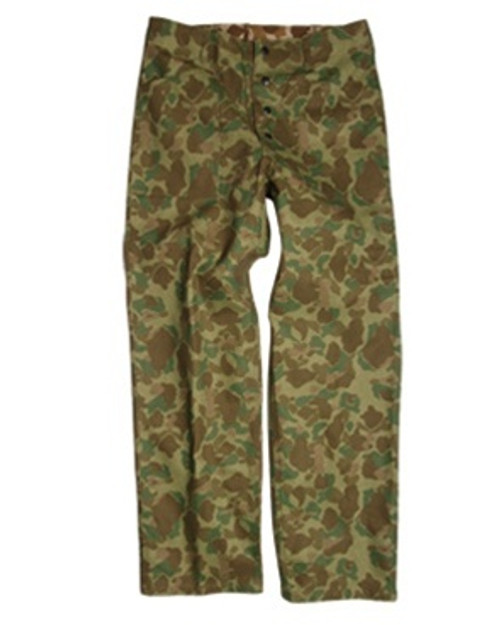 USMC WWII Camo HBT Trousers from Hessen Antique