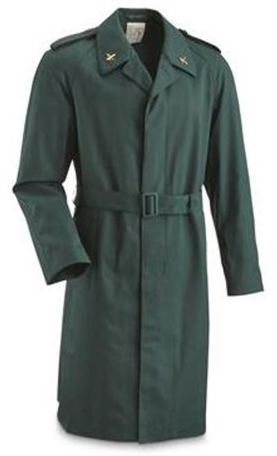 Spanish Military Green Overcoat from Hessen Surplus