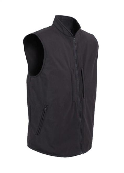 Concealed Carry Soft Shell Vest - Black