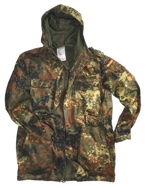 German Flectar Camo Field Parka from Hessen Surplus