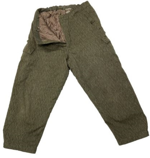 East German Camo Winter Weight Pants from Hessen Surplus