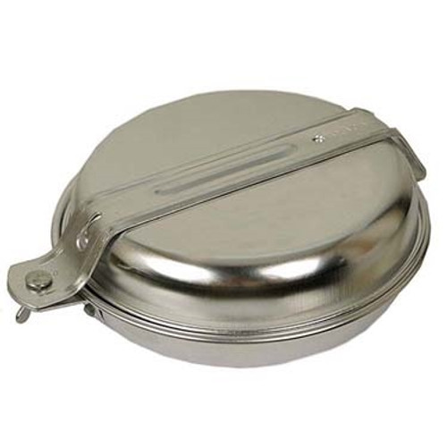 MIL-TEC One Person Polished Aluminium Cook Set from Hessen Antique