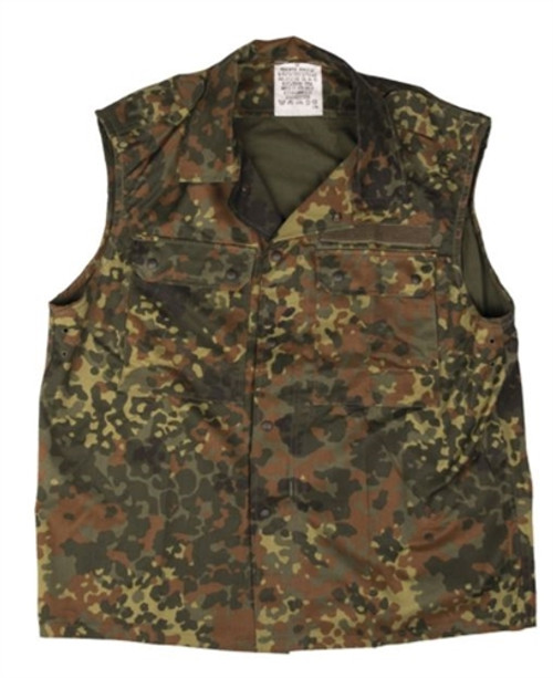 German Flectar Camo Field Vest from Hessen Surplus