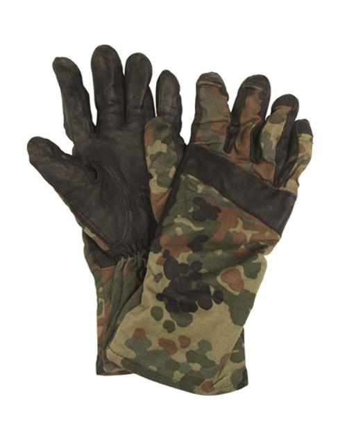 BW Flecktarn Gloves from Hessen Antique