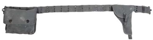 Italian Military 3 Piece Belt Set from Hessen Antique