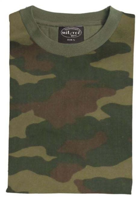 MIL-TEC Russian Woodland Camo T-Shirt from Hessen Surplus
