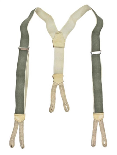 Cz Army Trouser Suspenders from Hessen Antique